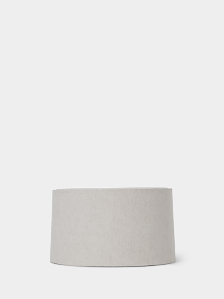 Ferm Living - Hebe Lampshade + Base Short - White