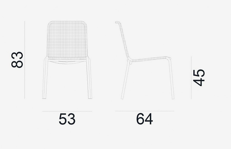 Gervasoni - Straw 23 - Chair