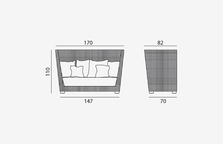 Gervasoni - Inout 502 - Sofa