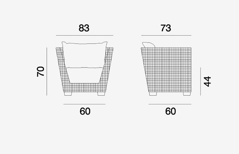 Gervasoni - Inout 505 - Armchair