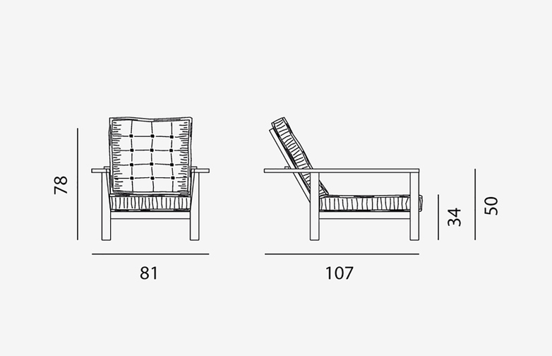 Gervasoni - Inout 09 - Armchair