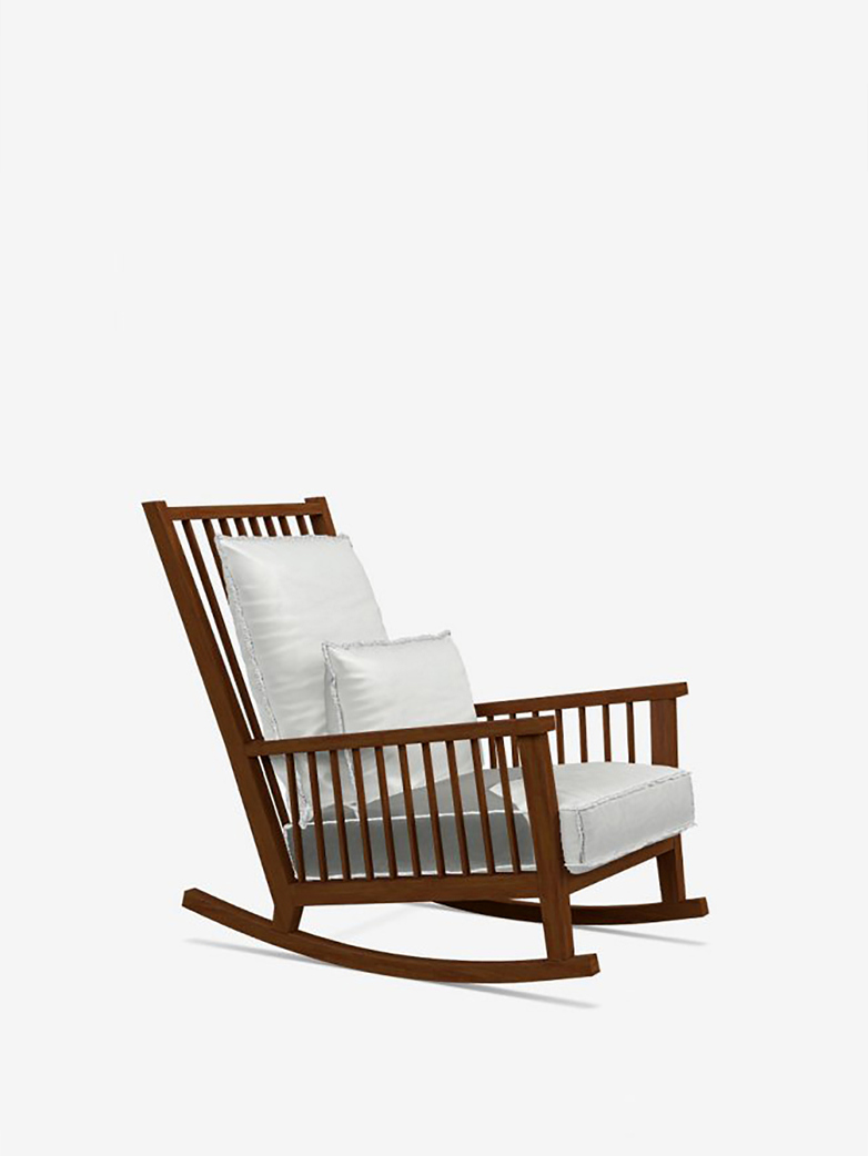 Gervasoni - Inout 709 - Rocking Chair