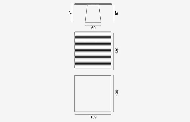 Gervasoni - Inout 36 - Table