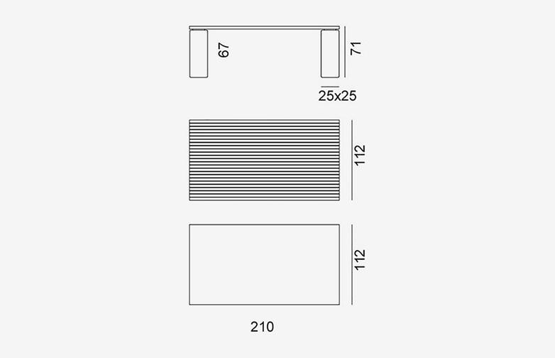 Gervasoni - Inout 33-34 - Table