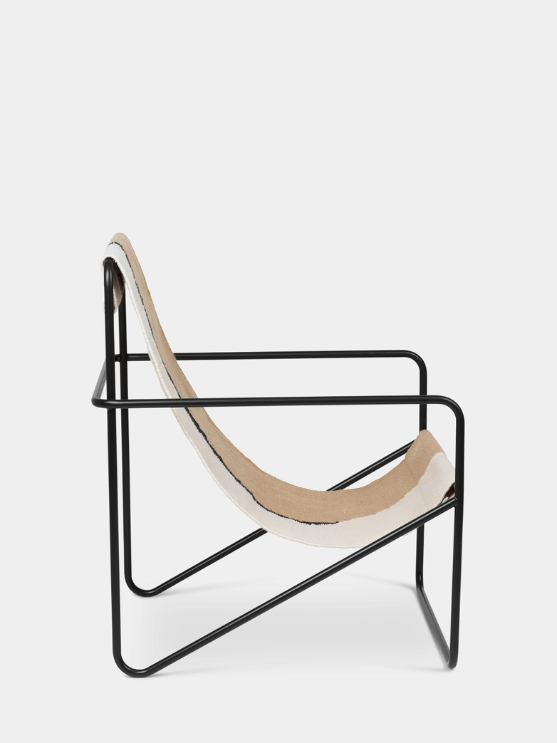 Ferm Living - Desert Chair - Black Soil