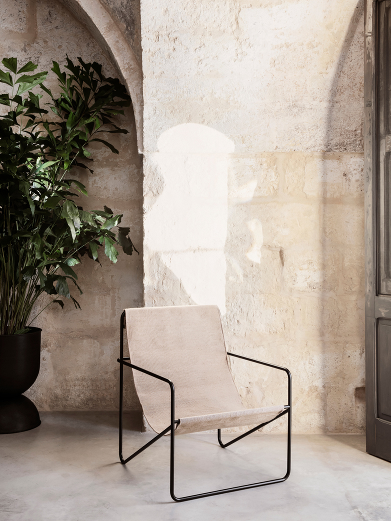 Ferm Living - Desert Chair - Black Solid