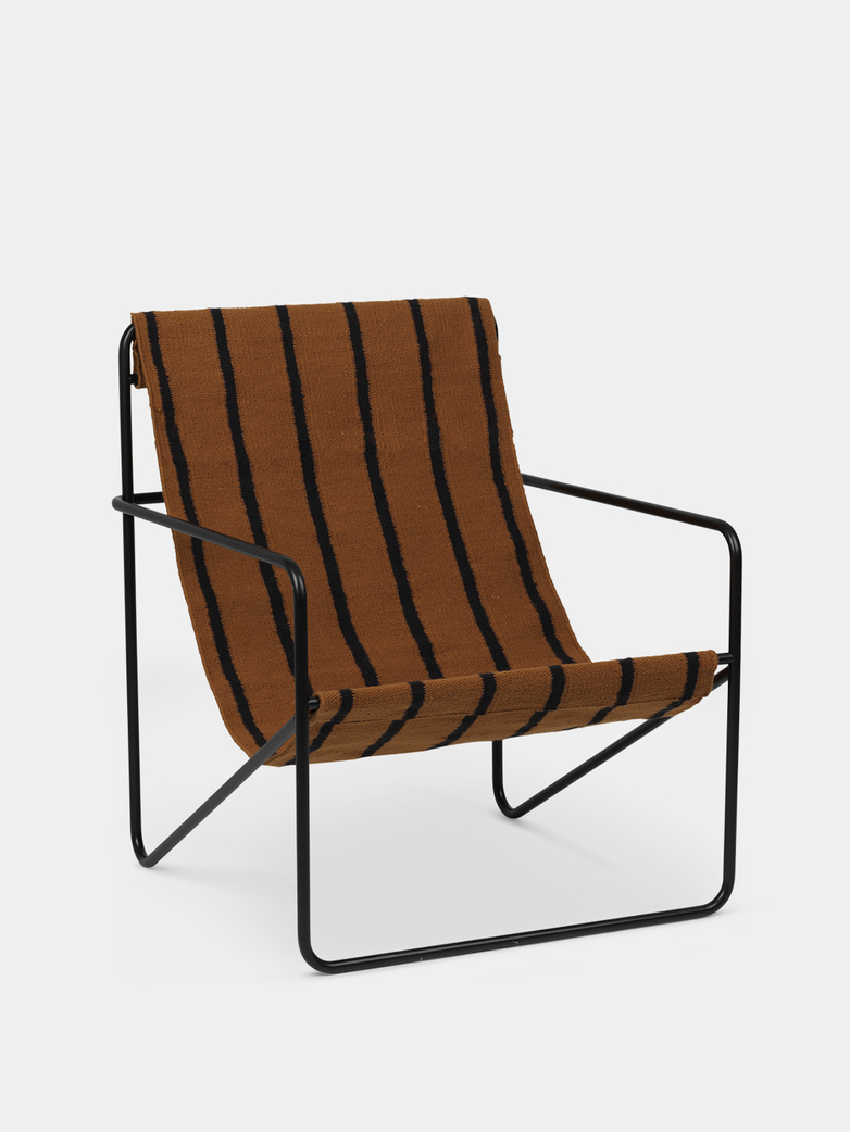 Ferm Living - Desert Chair - Black Stripe