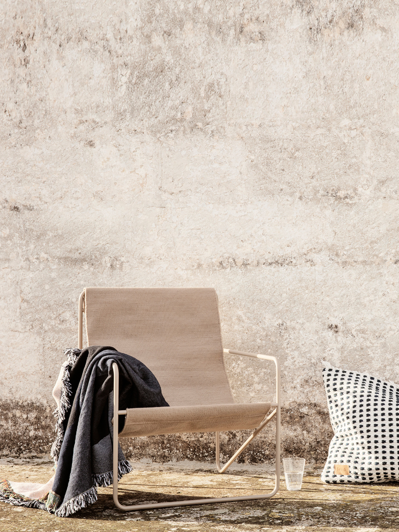 Ferm Living - Desert Chair - Cashmere Solid