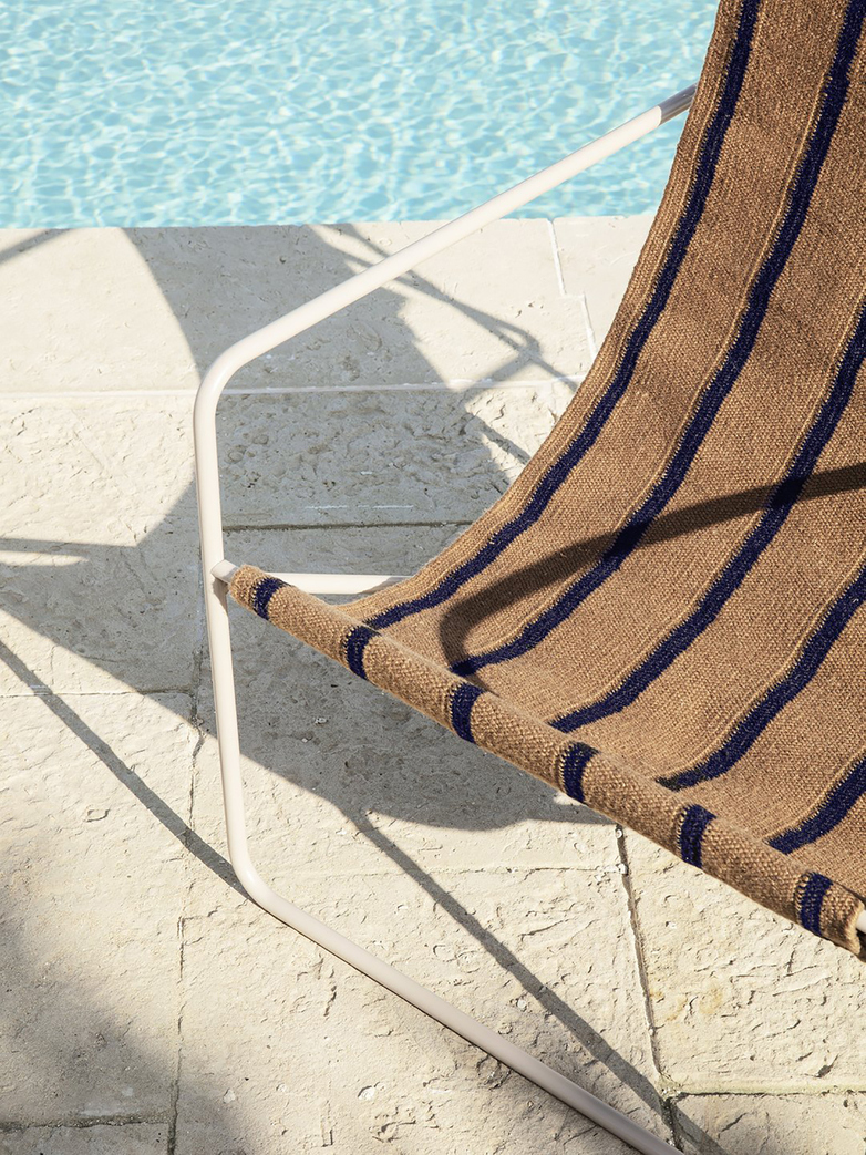 Ferm Living - Desert Chair - Cashmere Stripe