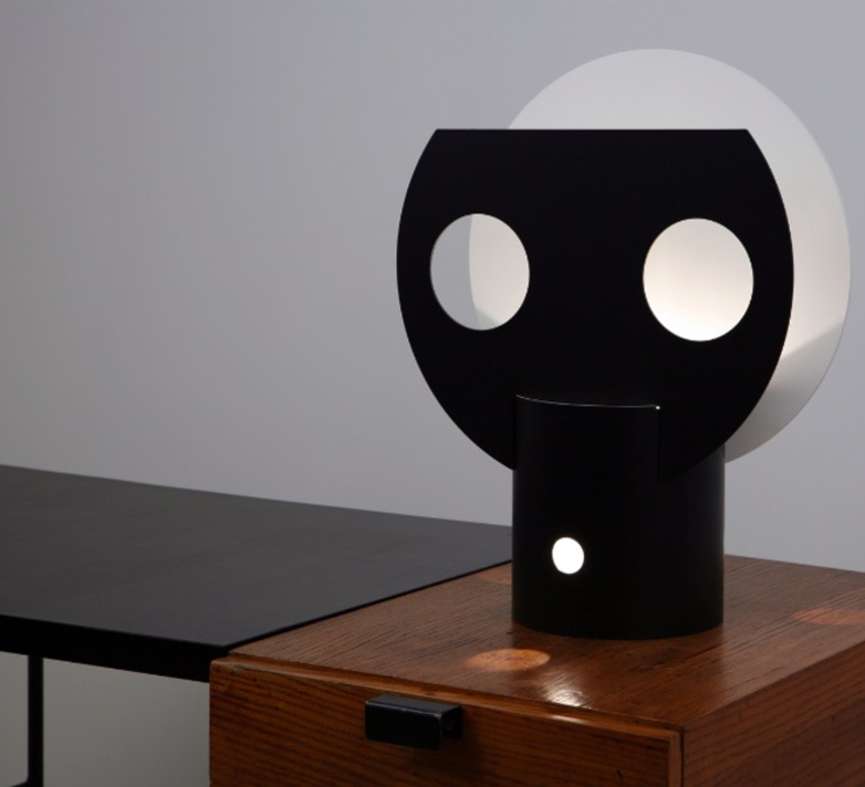 Lune Table Lamp – Black Moon