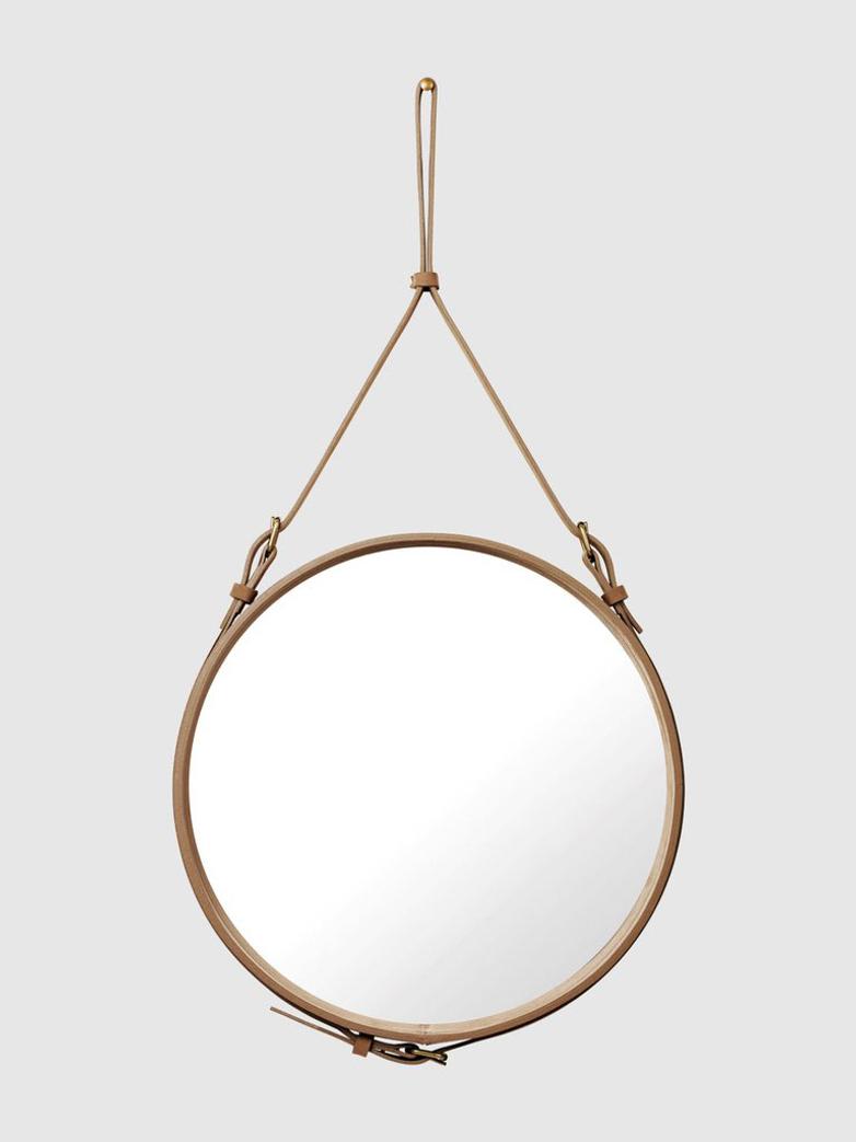 Adnet Circular Mirror Safari Sand - 58cm