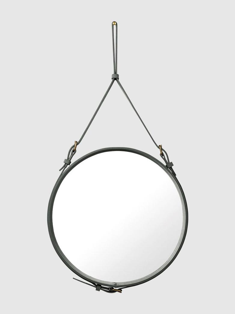 Adnet Circular Mirror Smoked Pearl - 58cm
