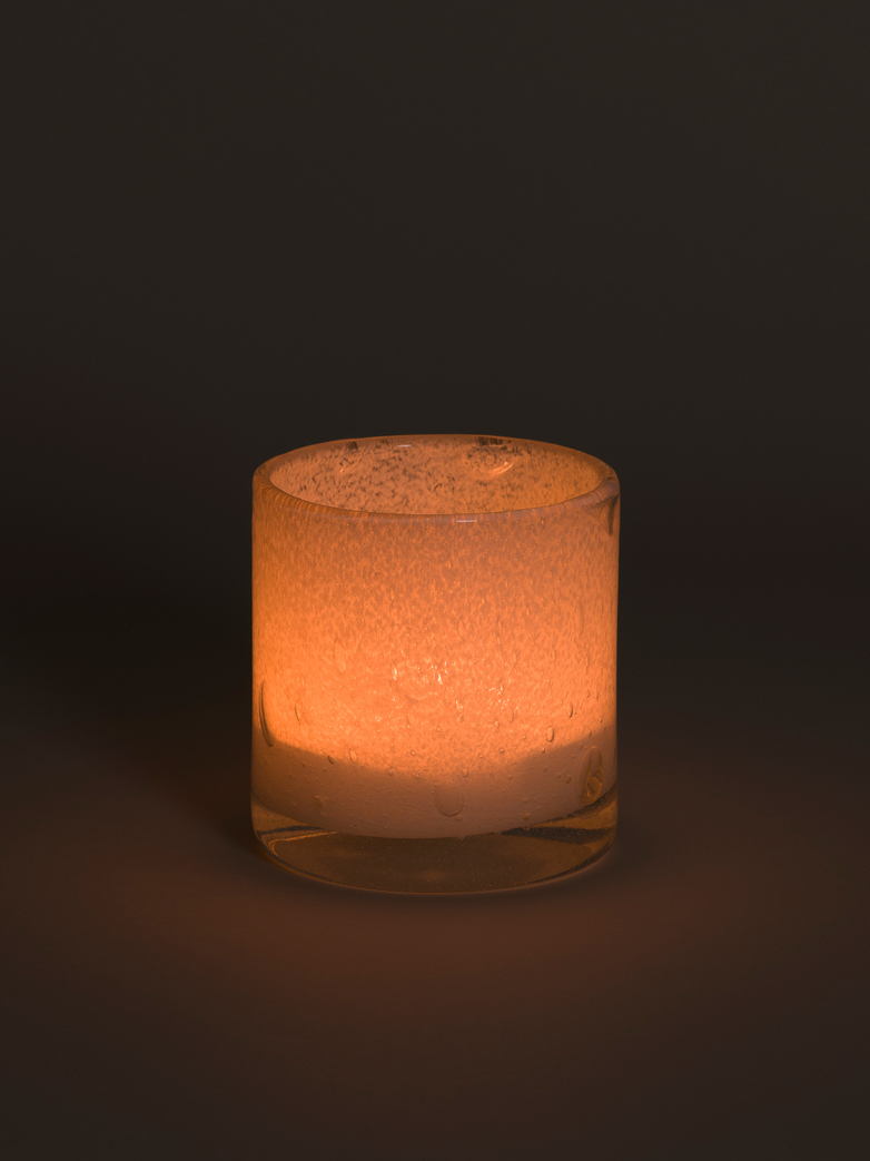 Belle Candle Holder – Ecru – Medium