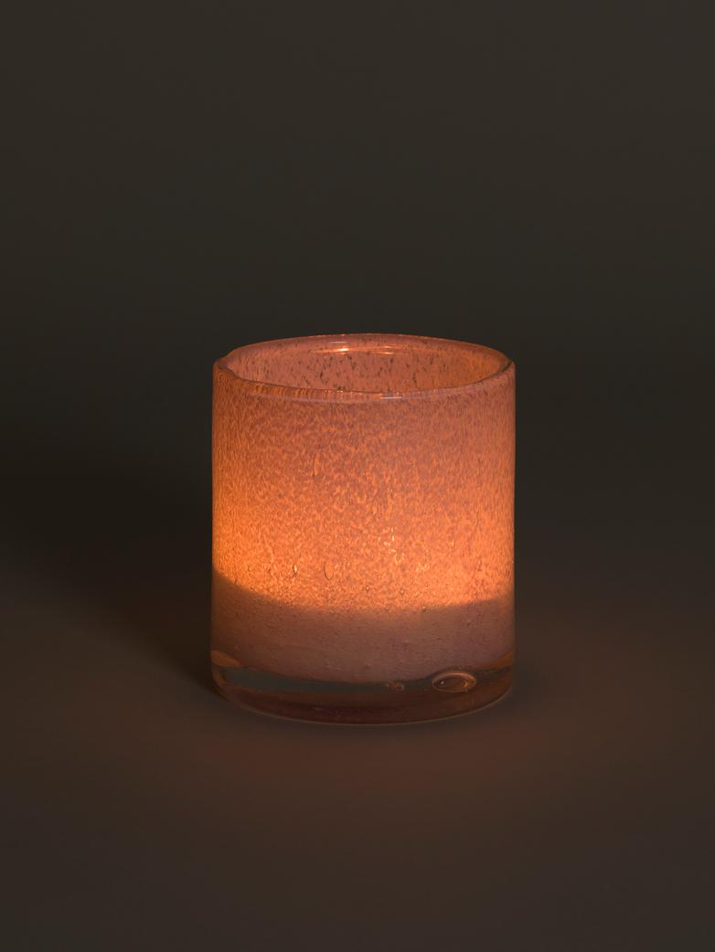Belle Candle Holder – Rosebud – Medium