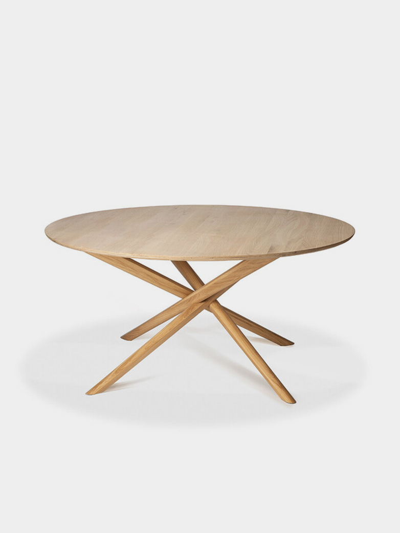 Mikado Dining Table – Oak – Round