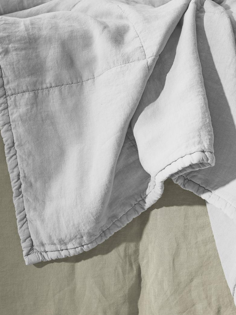 Rem Linen Bedding - Bianco