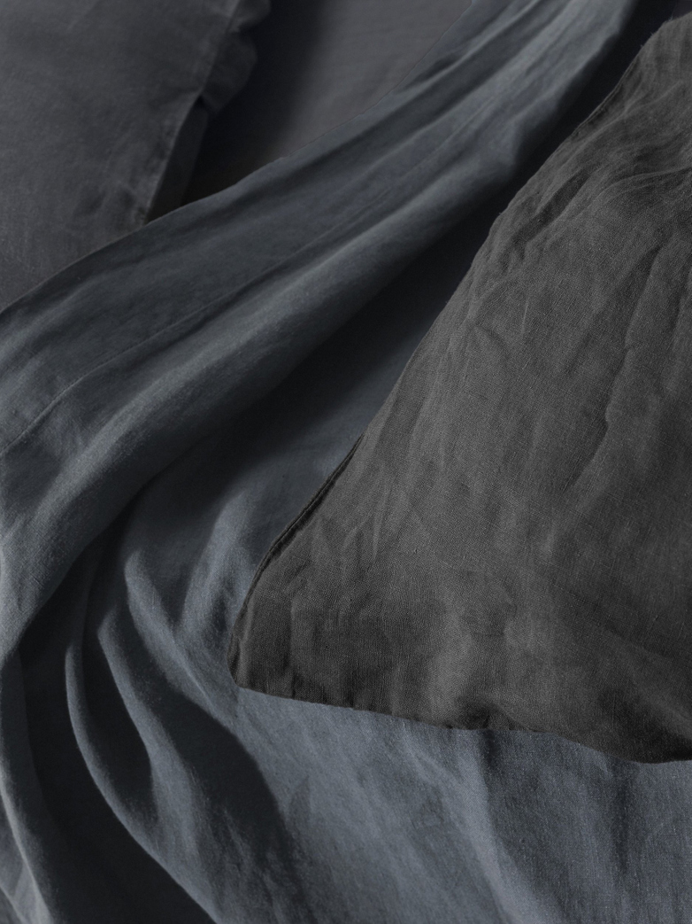 Rem Linen Bedding - Antracite