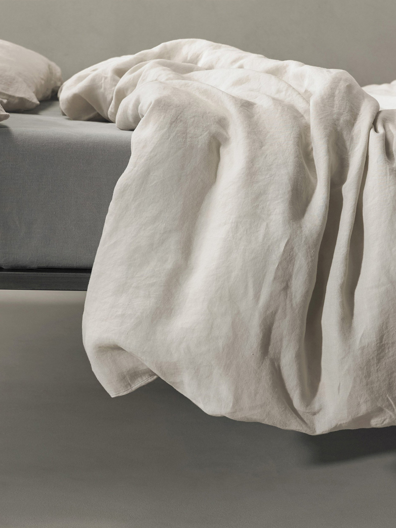 Rem Linen Bedding - Marmo