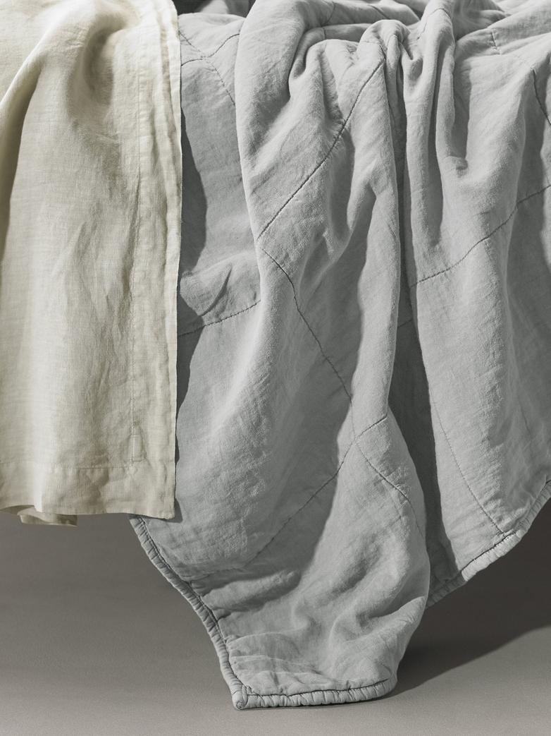 Rem Linen Bedding - Ghiaccio