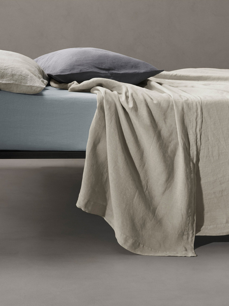 Rem Linen Bedding - Mastice