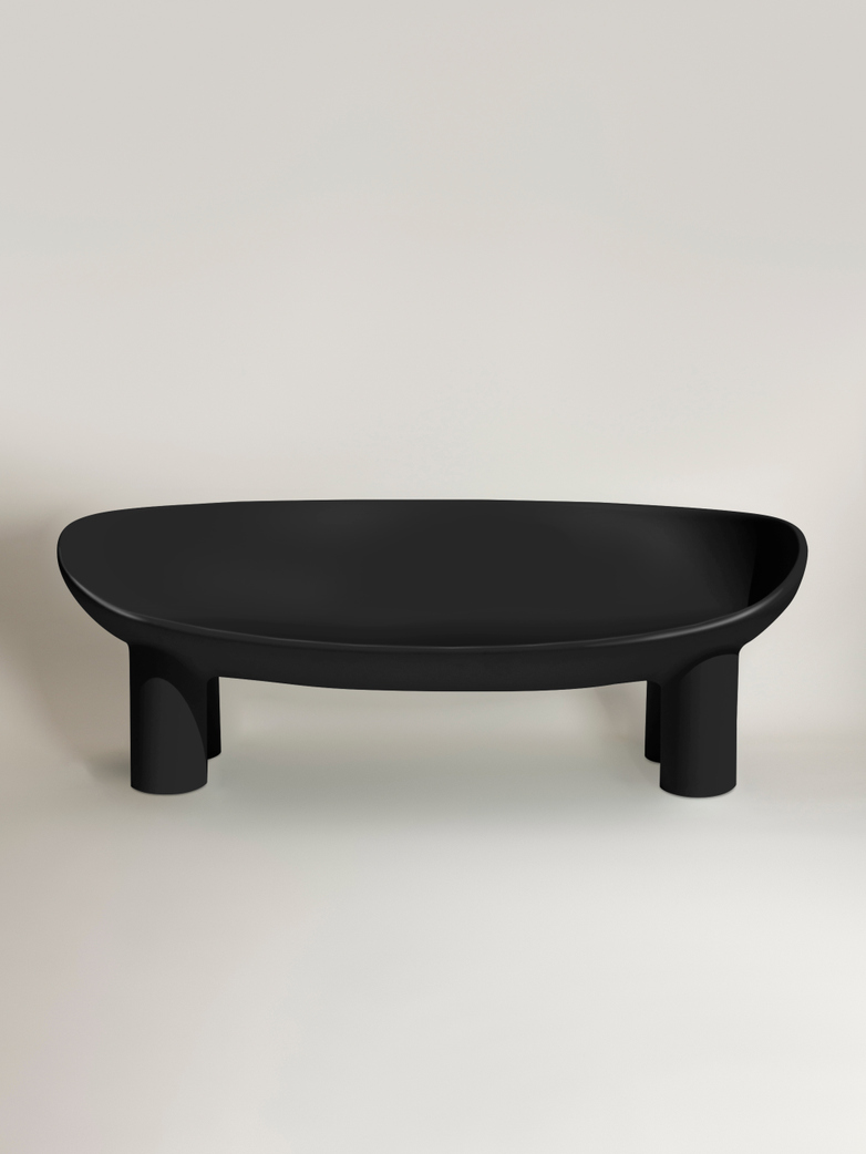 Roly Poly Sofa - Charcoal