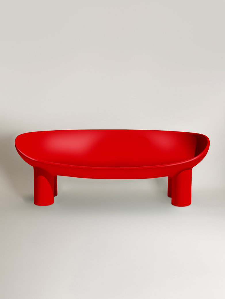 Roly Poly Sofa - Red Brick