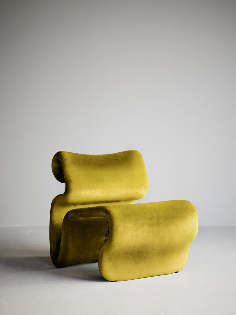 Etcetera Easy Chair – Turmeric Yellow