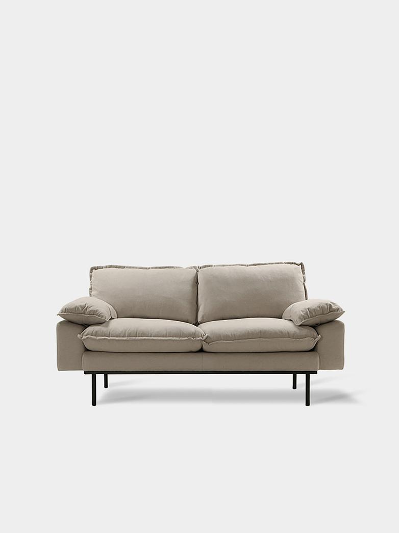 Retro sofa - Cosy beige