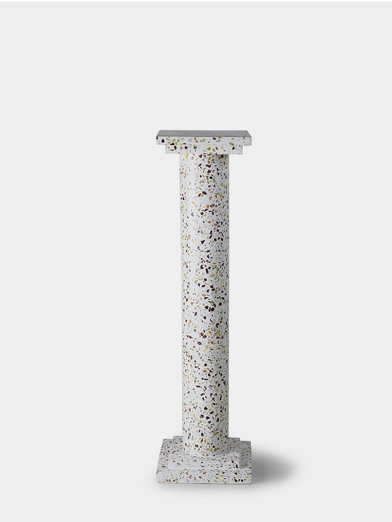 Greek column terrazzo