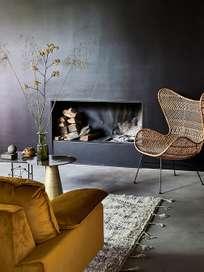 Retro Sofa - Ochre