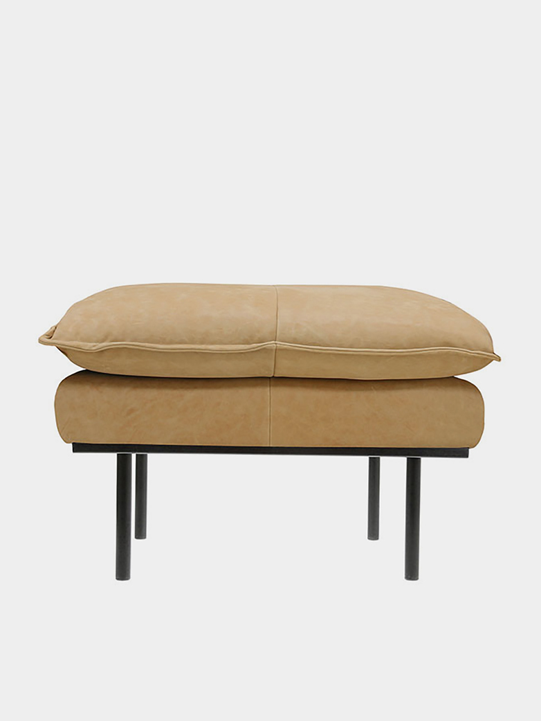Retro Sofa - Natural leather