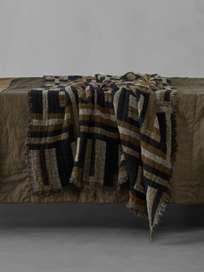 Klim Throw 130 x 180 cm – Caramel