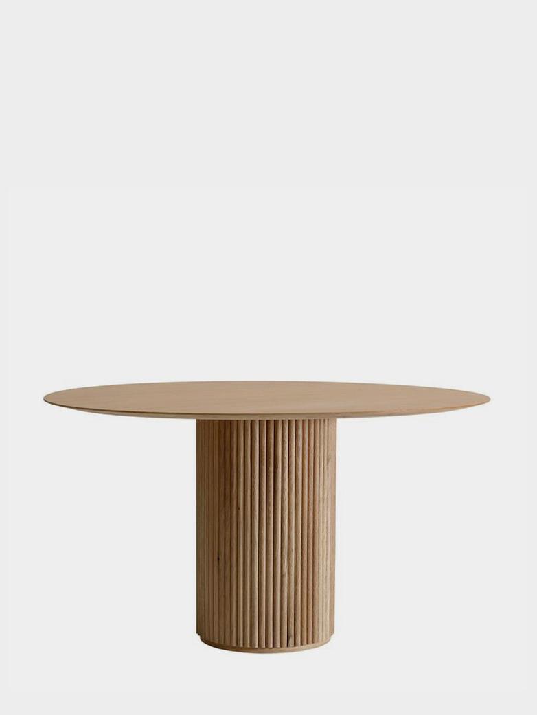 Palais Royal Dining Table - Natural Oak - 130 cm