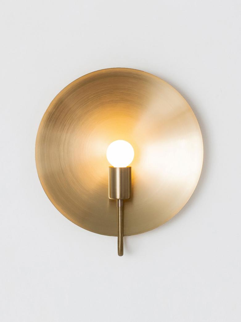 Helios Ada Wall Lamp - Brass