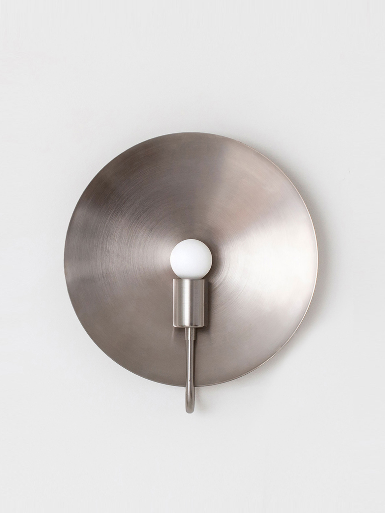 Helios Ada Wall Lamp - Nickel