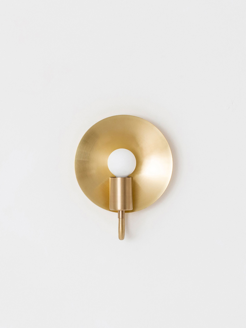 Orbit Ada Wall Lamp - Brass