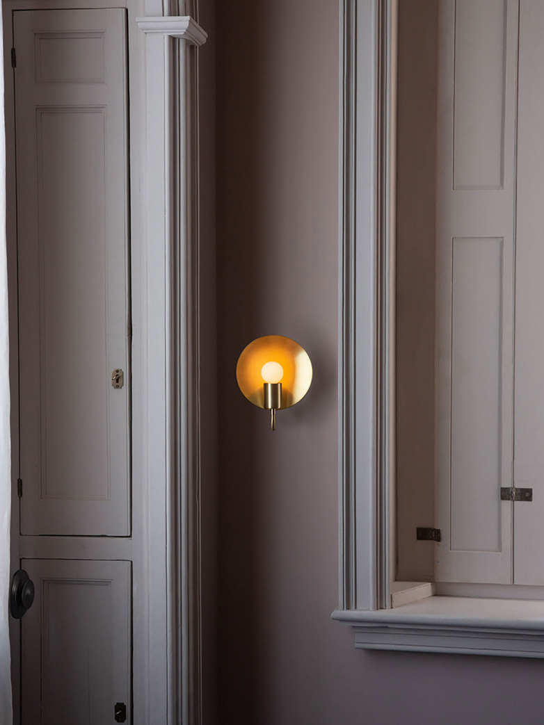 Orbit Ada Wall Lamp - Nickel