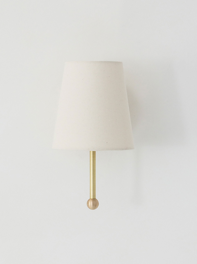 House Wall Lamp Brass