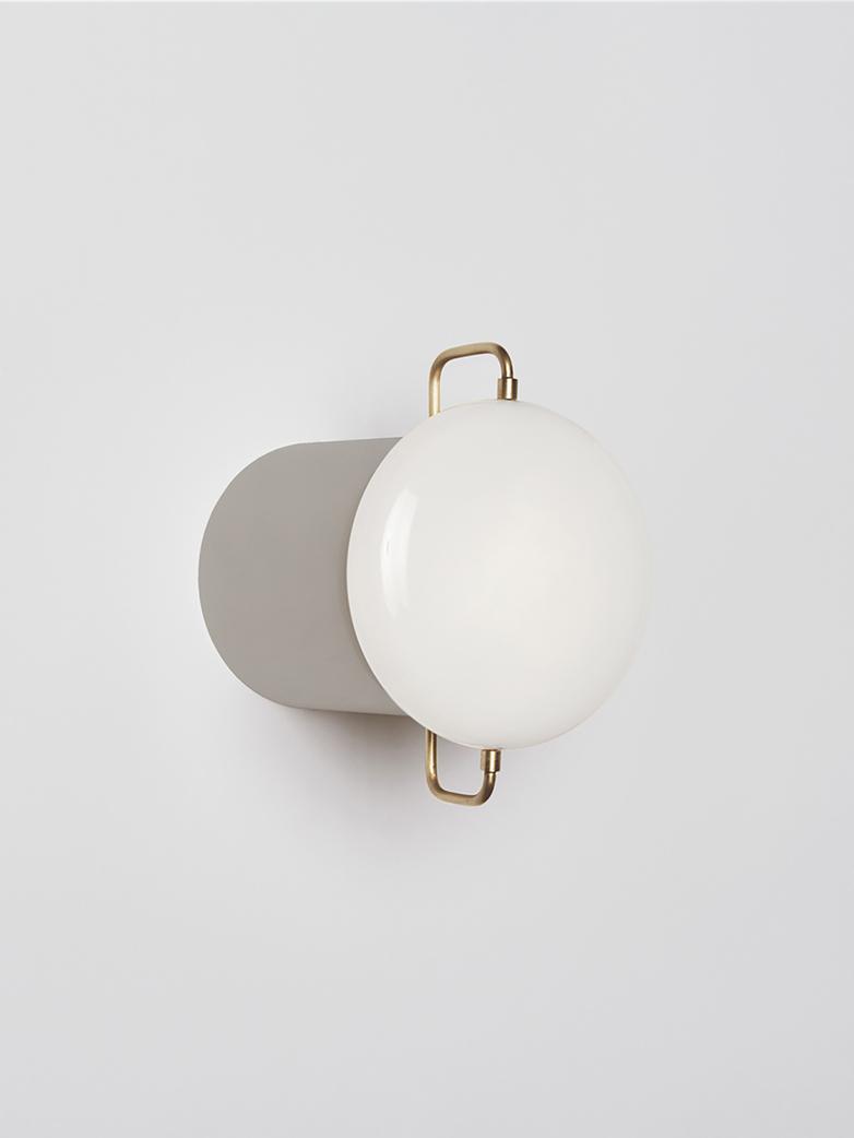 White/Aluminum