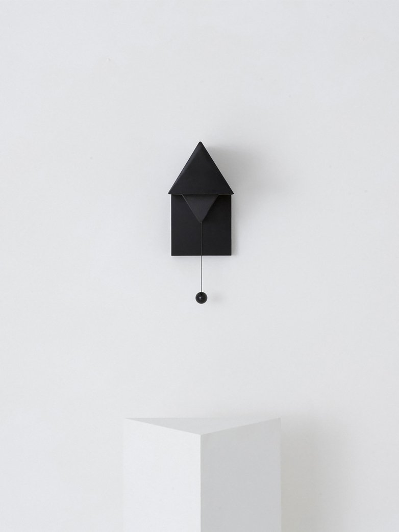 Gable Wall Lamp - Black