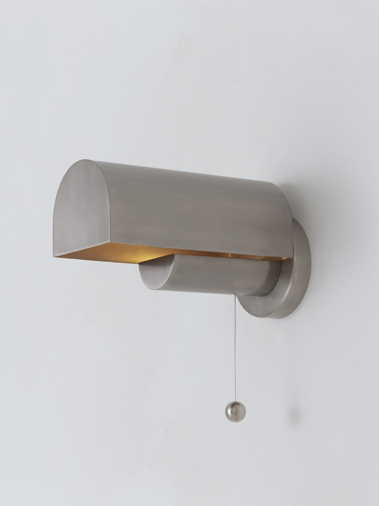 Vault Wall Lamp - Nickel