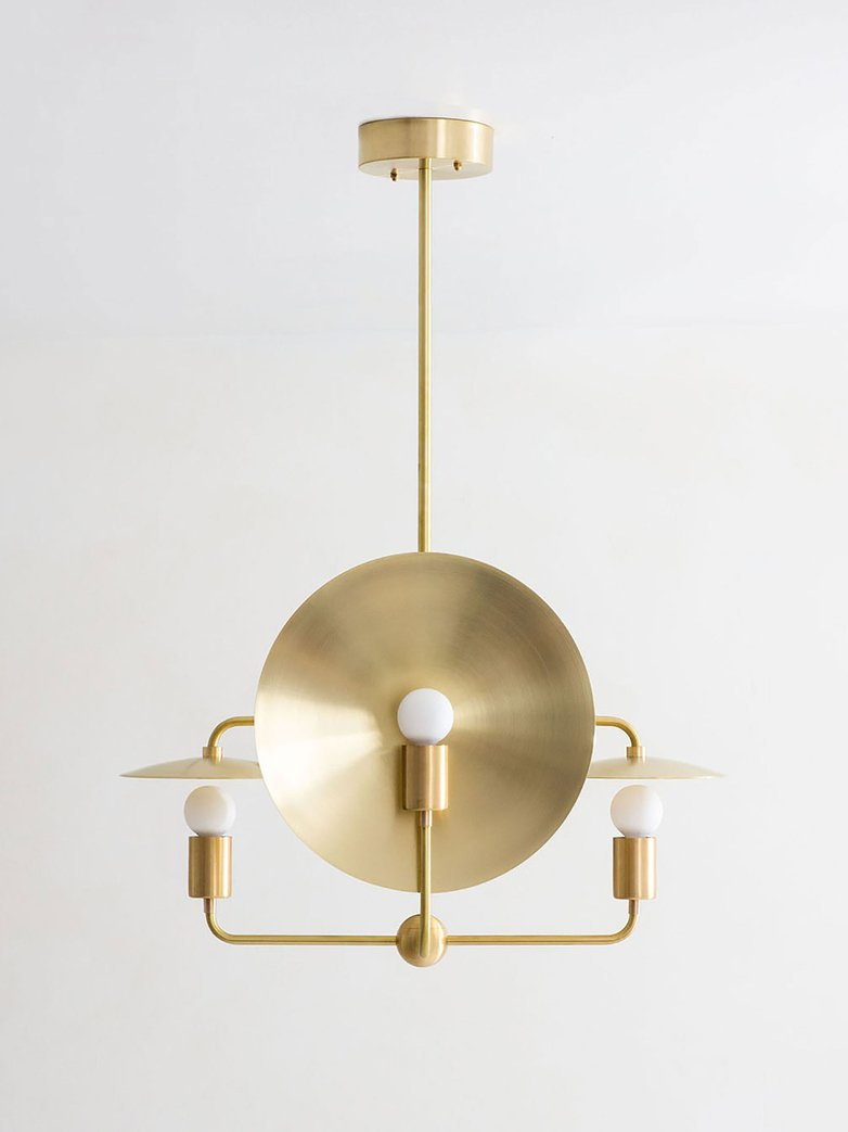 Orbit Chandelier - Brass
