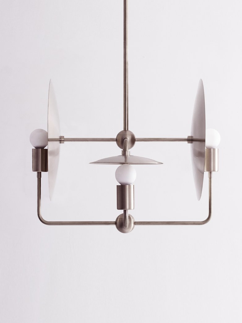 Orbit Chandelier - Nickel