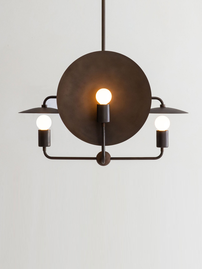 Orbit Chandelier - Bronze