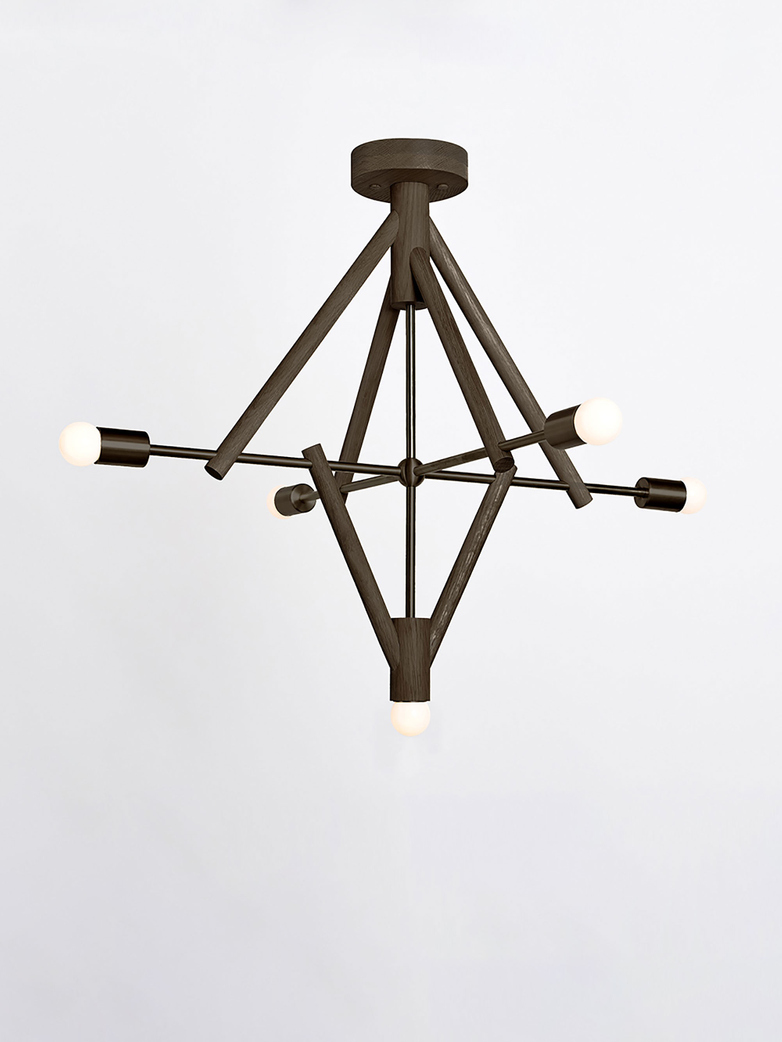 Lodge Chandelier V