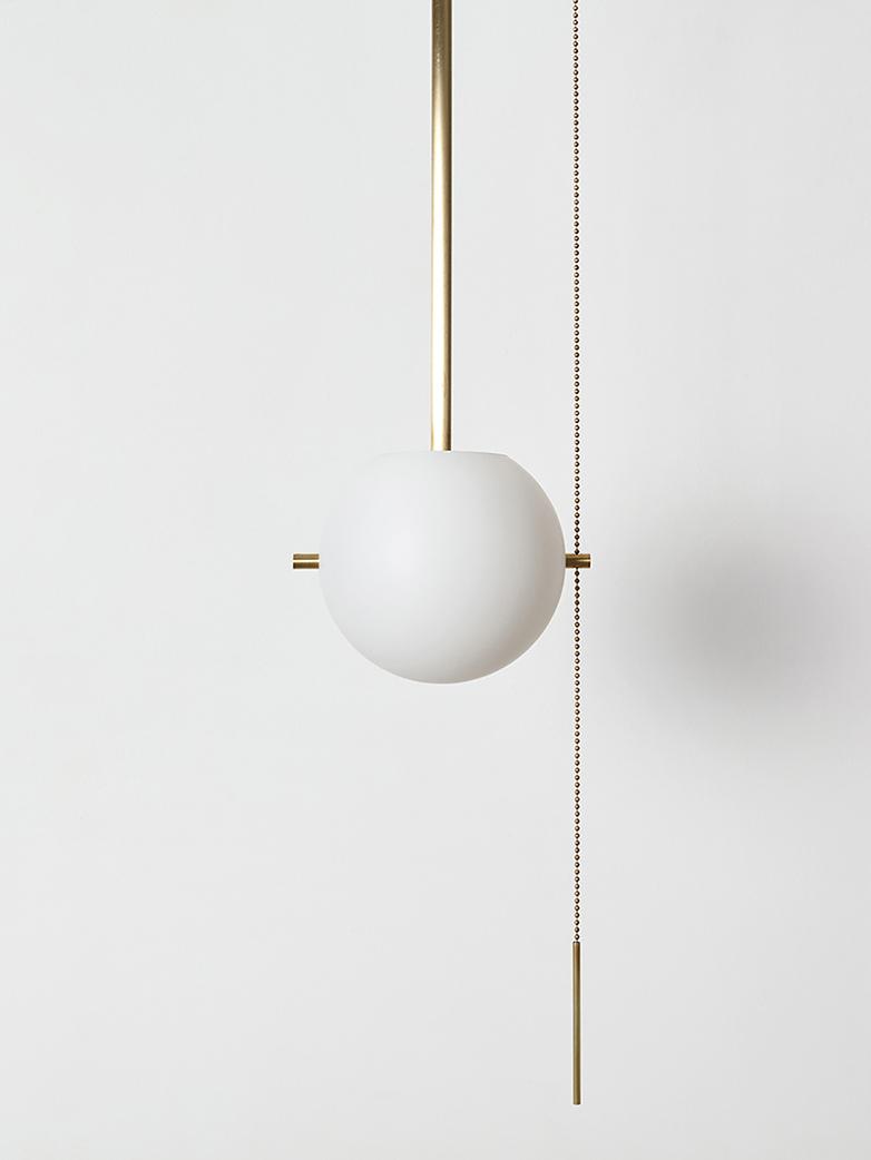Signal Pendant - Brass