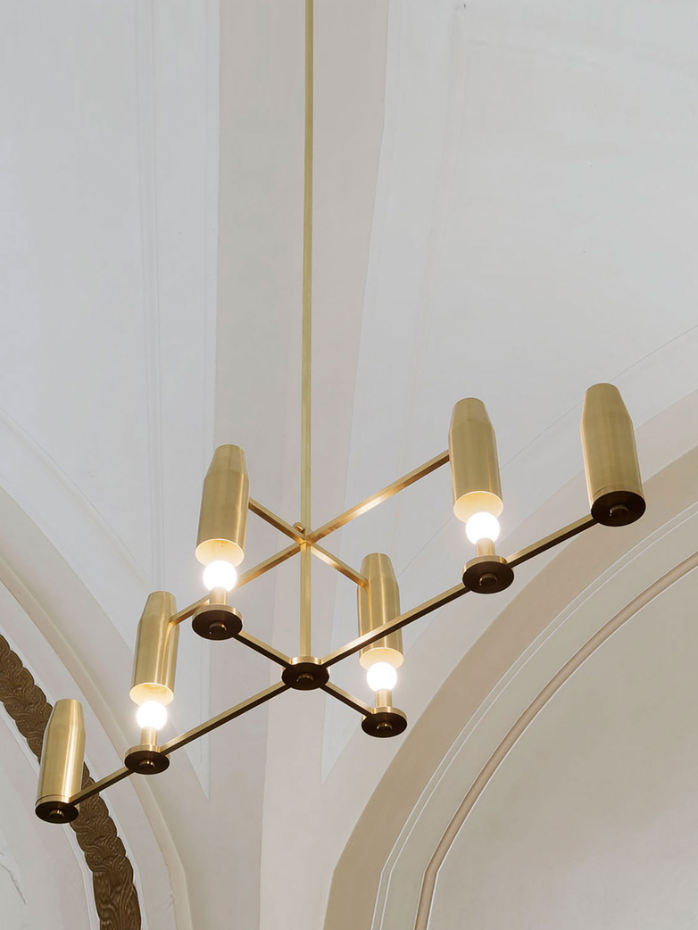 Chamber Chandelier - Brass