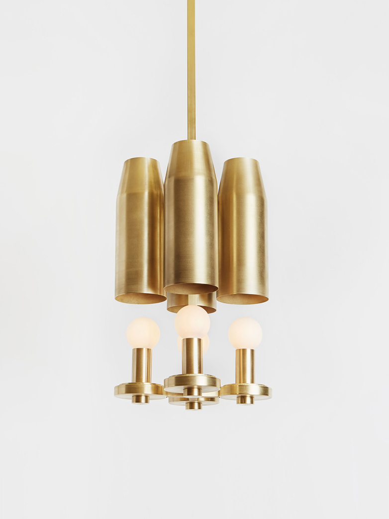Chamber Pendant IV - Brass