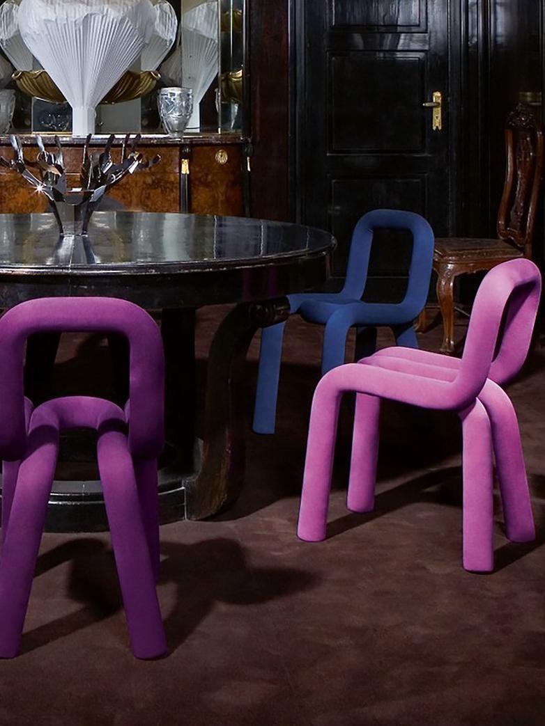 Bold Chair - Dark Blue