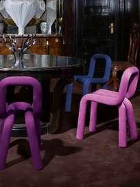 Bold Chair - Duck Blue